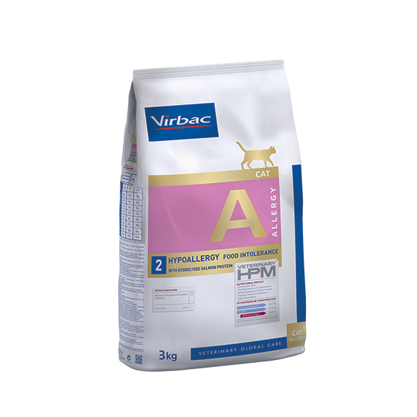 Virbac-Cat Hypoallergy with hydrolized Salmon Protein-Katzenfutter