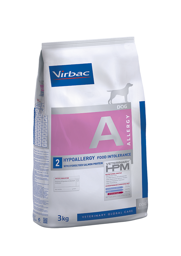 Virbac-Dog Hypoallergy with hydrolized Salmon Protein - Hundefutter