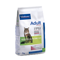 Virbac-Cat Adult Neutered and Entire Cat with Salmon - Katzenfutter