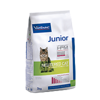 Virbac-Cat Junior Neutered - Katzenfutter