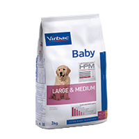 Virbac - Dog Baby Large and Medium - Hundefutter