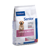 Virbac - Dog Senior Large and Medium - Hundefutter